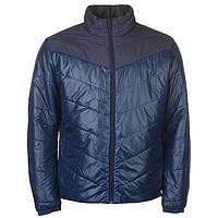 Мужская стеганая куртка adidas Cytins синяя оригинал