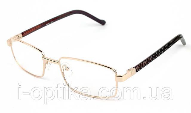 Женские очки в металлической оправе, фото 2