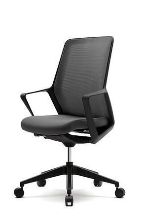 Кресло офисное компьютерное FLO black черное
