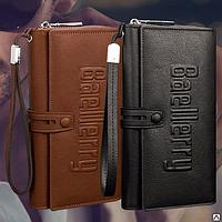 Мужское портмоне клатч кошелёк Baellerry Guero (Байлери Гуэро)