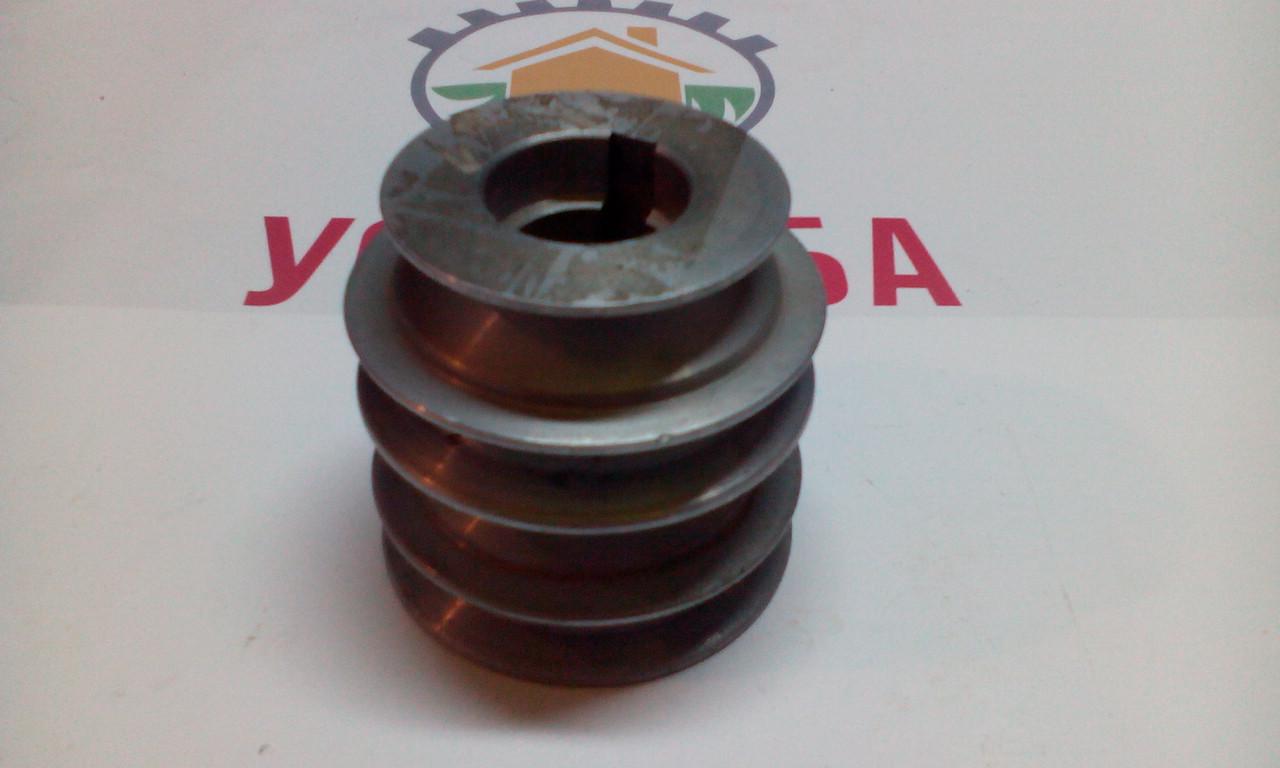 Шкив двигателя 168F на мотоблок Салют (d19мм)