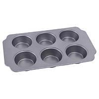 Форма для выпечки кексов 30,8х18х3см Con Brio CB-522