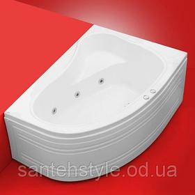 Акриловая ванна Fibrex Cristal 1500х1000х540 мм правосторонняя