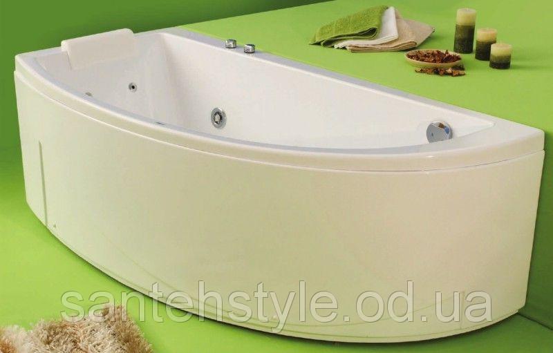 Ассиметричная акриловая ванна Fibrex Neo 1700х780х560 мм правосторонняя