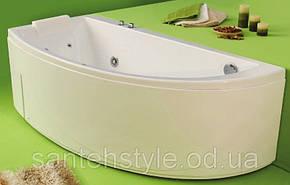 Ассиметричная акриловая ванна Fibrex Neo 1700х780х560 мм правосторонняя, фото 2