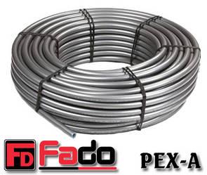 Труба для теплої підлоги Fado PEX-A 16х2,2 з кисневим бар'єром