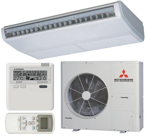Подпотолочный инверторный кондиционер Mitsubishi Heavy FDE140VG/FDC140VS Micro Inverter