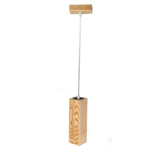 Підвісний світильник світлодіодний з дерева Сube VL-LED 7W З WOOD