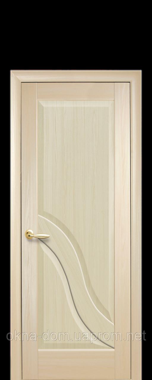 Двери межкомнатные Новый Стиль Амата (Глухое) ПВХ DeLuxe