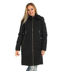 Женская зимная куртка / пуховик на силиконе  розмір 42 44 46 48 50