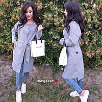 Модное женское кашемировое пальто на осень 2018
