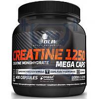 Creatine Mega Caps 1250 креатин моногидрат для увеличения мышечной массы для набора веса спортивное питание