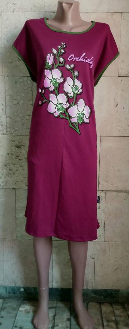 Платье-туника Орхидея