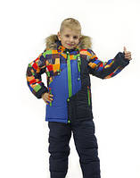 Теплый зимний костюм на мальчика Турба (3-5 лет), фото 1