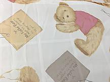 """Готовая тюль-вуаль печать """"Мишки""""(для детской) 3м, фото 2"""
