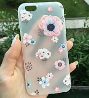 Чехол Apple iPhone 6 / 6S Flowers