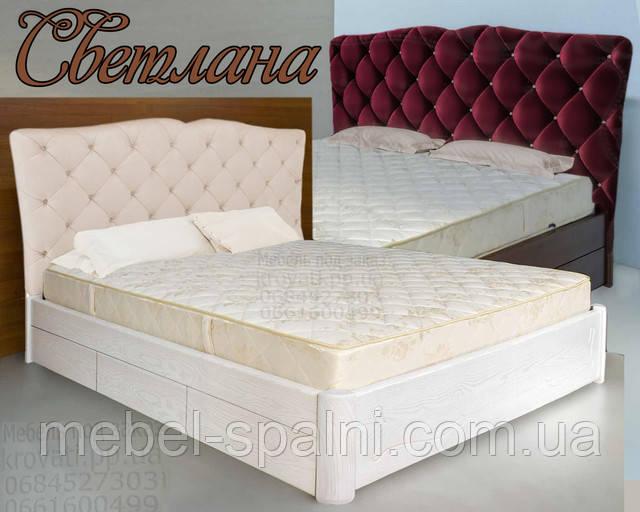 Кровать двуспальная Светлана