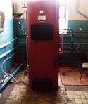 Установка системы отопления Автобаза г. Харьков (Монтаж дымоходной системы по улице Зерновая плюс дымоходная система)