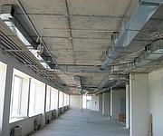 Установка вентиляционной системы Жилой комплекс «Башни» г. Днепропетровск