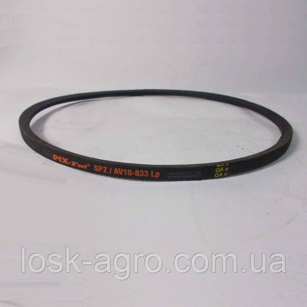 Ремень приводной клиновый SPZ-833 УО-833