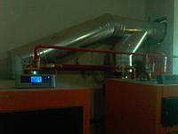 Установка систем отопления Макаронная фабрика г. Харьков