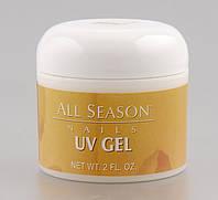 Гель All Season UV Gel Clear 60 мл, Цвет Прозрачный