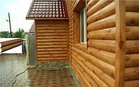 Фасадный металлосайдинг Блок хаус, фото 1