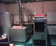 Установка системы отопления в частном доме г. Харьков (Монтаж твердотопливного котла «ВИСМА», работающий совместно с газовым котлом плюс дымоходная система)