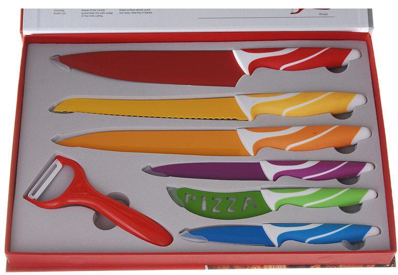Набор ножей Super Lux с керамическим покрытием