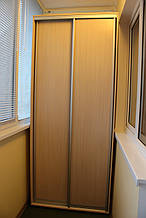 Шкаф купе 2х-дверный ширина 1000мм, глубина 450мм, высота 2400мм. Одесса
