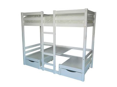 Двухъярусная кровать Л-304 90х190 см ТМ Скиф, фото 2