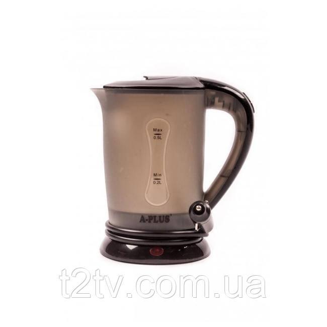 Чайник автомобильный электрочайник 12v A-plus 1518 Black