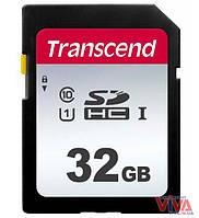 Карта памяти SDHC Transcend 32 GB UHS-I U1 300S (TS32GSDC300S)