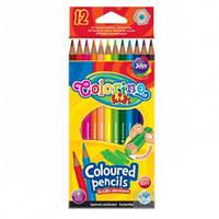 Набір кольорових олівців Colorino 12шт 2мм (14687PTR/1)