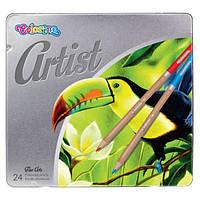 Набір кольорових олівців Colorino 24шт 3мм (83263PTR)