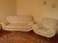 Перетяжка мягкой мебели кожей Киевская область