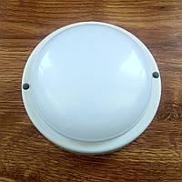 Светильник антивандальный ЖКХ LED 8W 6000K 650Лм IP65 круг