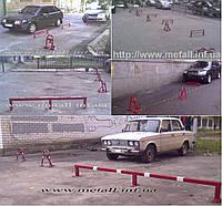 Колесоотбойники, разделители парковочных мест