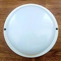 Светильник антивандальный ЖКХ LED 12W 6000K 1100Лм IP65 круг