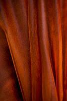 Легкая прозрачная ткань Органза с утяжелителем внизу , коричневый перламутр