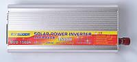 Преобразователь напряжения мощность 1500Вт Suoer SUB-1500A DC 12V до 220В с USB инвертор, фото 1