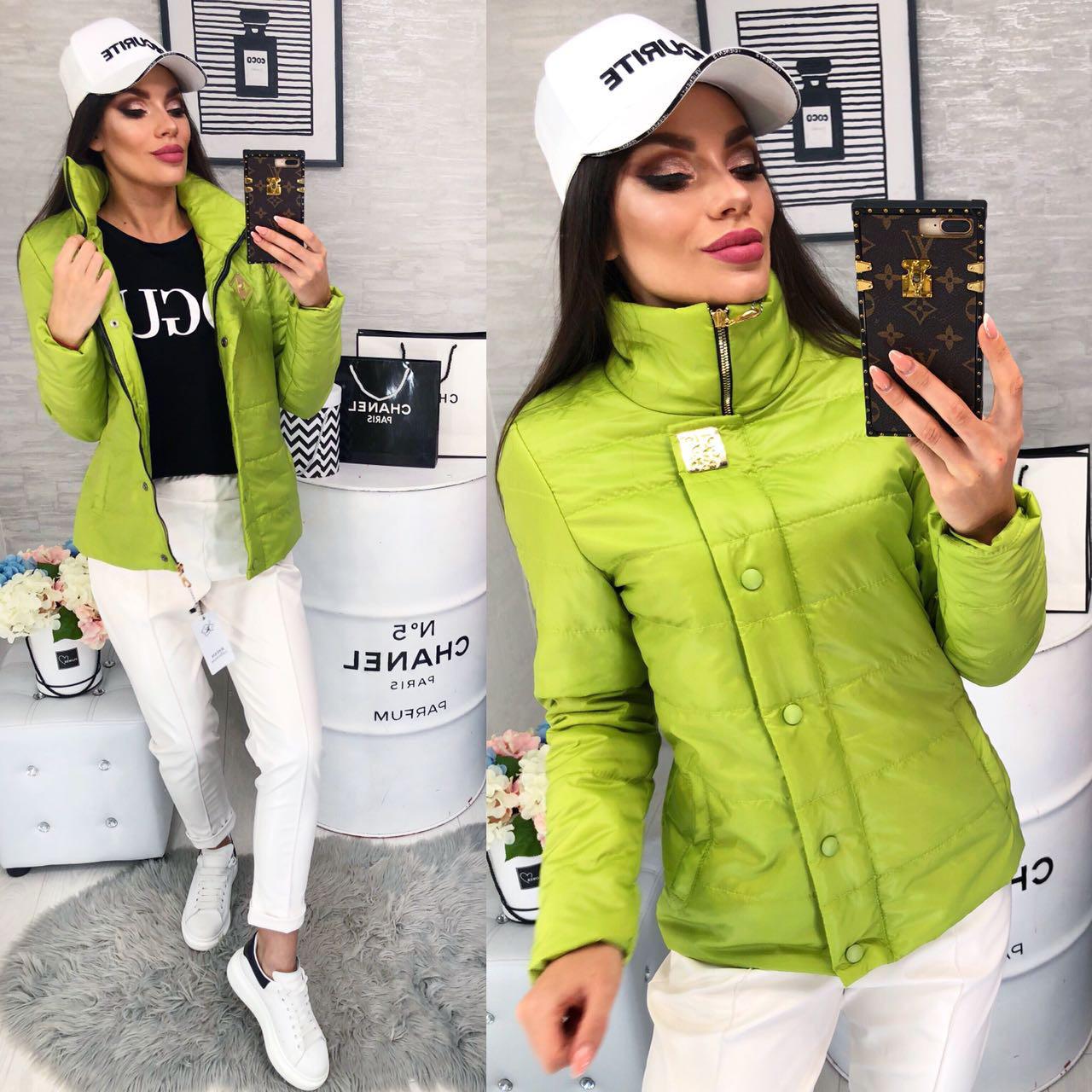 Куртка, модель 211/2, цвет - зеленое яблоко