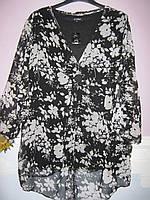 Блуза туника женская, батал