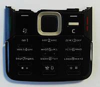 Оригинальная клавиатура для Nokia N82, Черная (кириллица) Сервисный Оригинал /Кнопки/Клавиши /нокиа/Original, фото 1