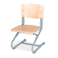Детский эргономический стул Дэми серый