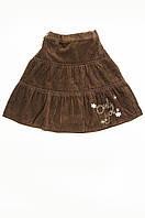 Детская юбка коричневая, фото 1
