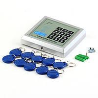 Безопасность вашего дома, офиса! система контроля доступа rfid, 10 ключей, поддержка до 250 пользователей