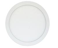 Светодиодный светильник Downlight 25 Вт теплый белый круг (3200К), фото 1