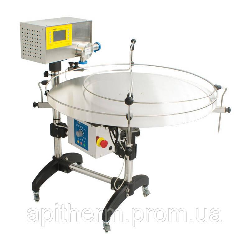 Насос-дозатор для фасовки мёда с автоматическим поворотным столом.Premium Line. Лысонь Польша