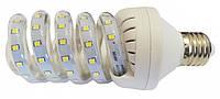 Светодиодная лампочка Е27 Спираль 9 Вт нейтральный белый (4200К)